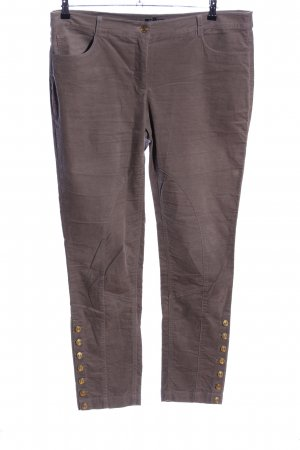 Apart Pantalone largo marrone stile casual