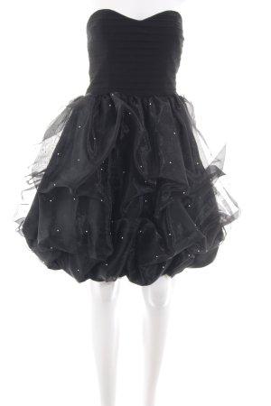 Apart Bandeau Dress black elegant