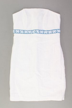 Apart Bandeau Dress natural white acetate
