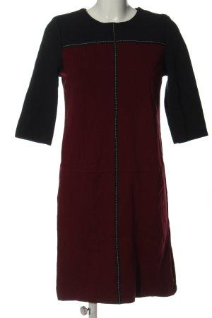 Apart Ołówkowa sukienka czerwony-czarny W stylu casual