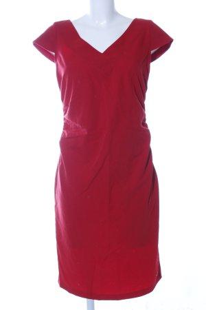 Apart Ołówkowa sukienka czerwony W stylu biznesowym