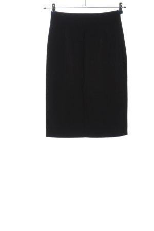 Apart Ołówkowa spódnica czarny W stylu biznesowym