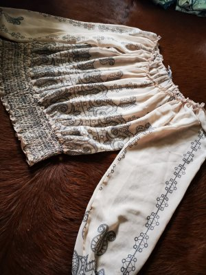 Apart Bluzka tunika kremowy-beżowy