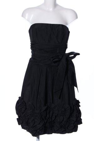 Apart Robe bustier noir élégant