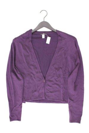 Apart Cardigan Größe 36 Langarm lila aus Polyamid