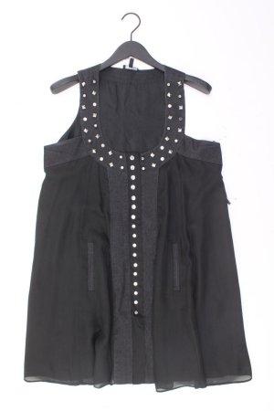 Apart Chiffonkleid Größe 44 Ärmellos mit Nieten schwarz aus Polyester