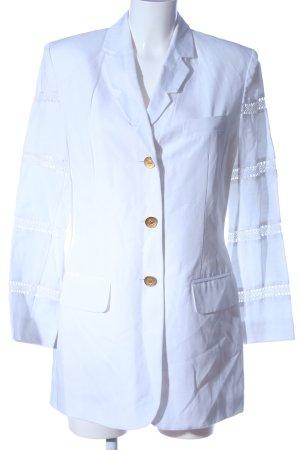 Apart Fashion Długa marynarka biały W stylu casual