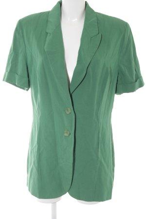 Apart Fashion Długa marynarka zielony Ekstrawagancki styl