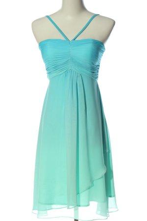 Apart  glamour Ballkleid blau-weiß Farbverlauf Elegant