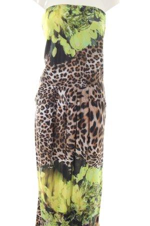 Apart  glamour Bandeau Dress flower pattern casual look