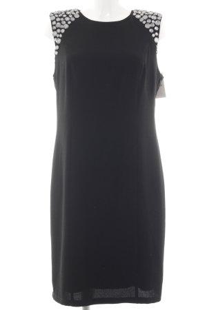 Apart  glamour Chiffon Dress black elegant