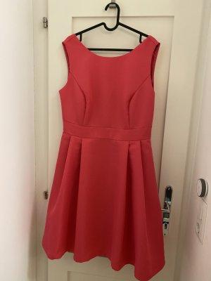 Apart  glamour Sukienka koktajlowa różowy Poliester