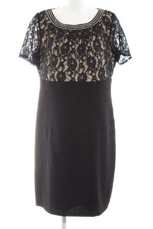 Apart  glamour Sheath Dress black-natural white flower pattern elegant