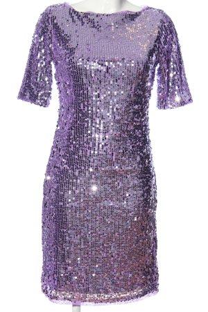 Apart  glamour Cekinowa sukienka fiolet Elegancki