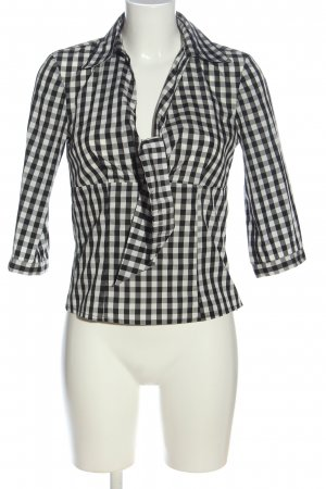 Apart Hemd-Bluse Allover-Druck Casual-Look