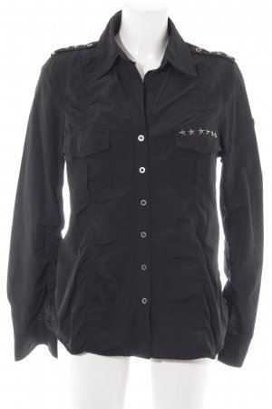 Apart Hemd-Bluse schwarz Casual-Look