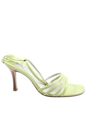 Apart High Heel Sandaletten grün Casual-Look