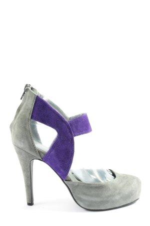Apart High Heels hellgrau-blau Casual-Look