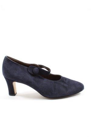 Apart Tacones Mary Jane azul estilo «business»