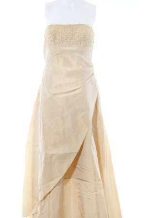 Apart Impressions Evening Dress gold-colored Lace trimming