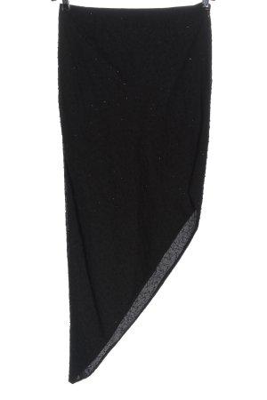 Apart Impressions Falda asimétrica negro look casual