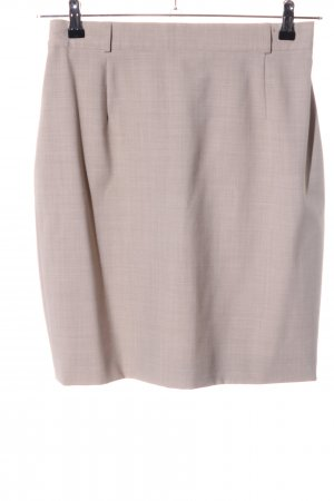 Apart Impressions Pencil Skirt natural white weave pattern casual look