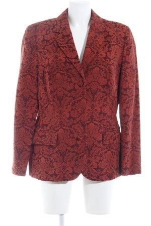 Apart Impressions Blazer boyfriend rouille-brun rouge motif embelli élégant