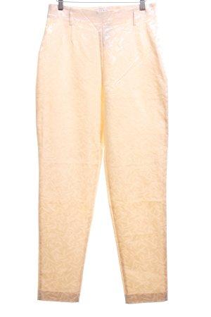 Apart Impressions Pantalon taille haute crème élégant