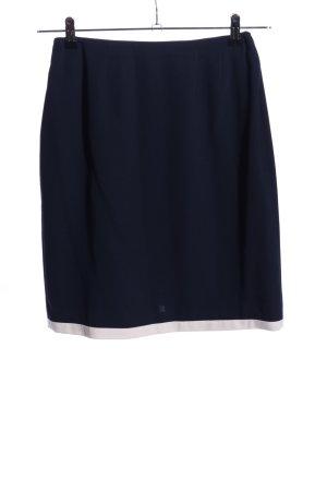 Apart Impressions Spódnica z wysokim stanem niebieski W stylu biznesowym