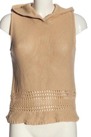 Apart Impressions Sweter z krótkim rękawem kremowy W stylu casual
