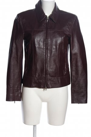 Apart Impressions Leather Jacket brown casual look