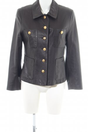 Apart Impressions Leather Jacket black casual look