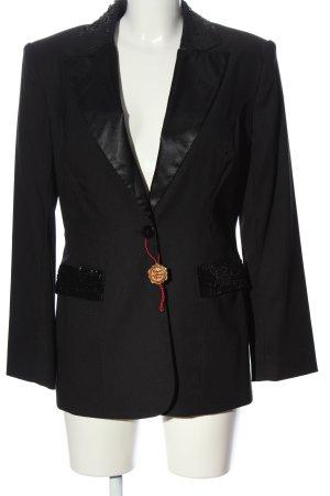 Apart Impressions Blazer long noir style d'affaires