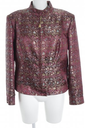 Apart Impressions Long Blazer abstract pattern extravagant style