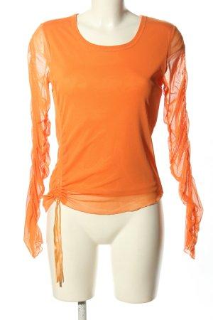 Apart Impressions Koszulka z długim rękawem jasny pomarańczowy W stylu casual