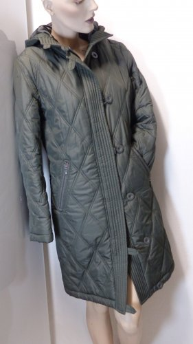 Apart Impressions Płaszcz zimowy zielono-szary Poliester