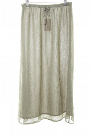Apart Impressions Maxi Skirt sage green simple style