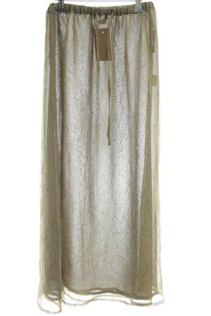 Apart Impressions Maxi Skirt olive green elegant