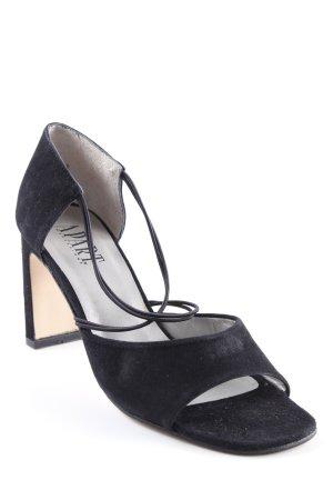 Apart Impressions Sandales à talons hauts et lanière noir élégant