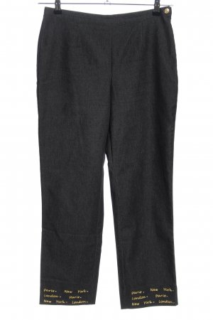 Apart Impressions Jersey Pants black-gold-colored casual look
