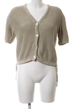 Apart Impressions Veste en tricot kaki style décontracté
