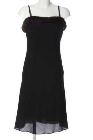 Apart Impressions Robe à bretelles noir élégant