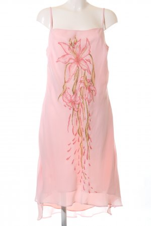Apart Impressions Pinafore dress pink-nude themed print casual look