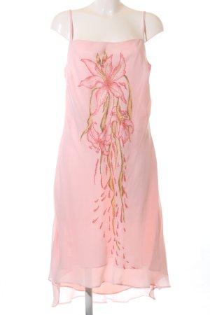 Apart Impressions Robe à bretelles rose-rose chair imprimé avec thème