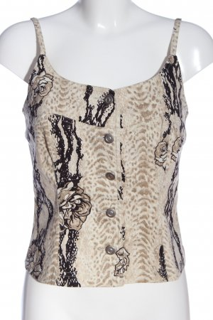 Apart Impressions Strappy Top natural white-black abstract pattern casual look