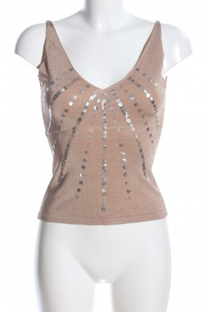 Apart Impressions Strappy Top brown-silver-colored casual look