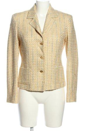Apart Impressions Tweed Blazer cream-light grey striped pattern casual look