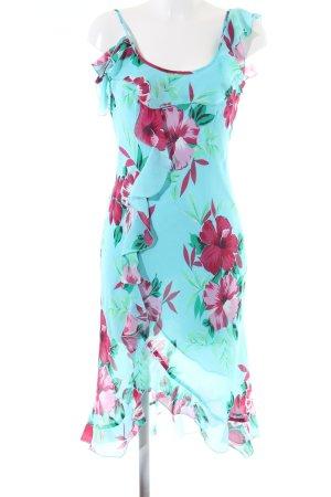 Apart Impressions Volante jurk volledige print elegant
