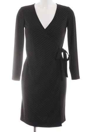 Apart Impressions Wraparound black striped pattern business style
