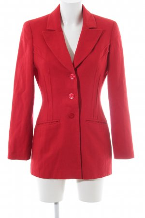 Apart Impressions Woll-Blazer rot Casual-Look